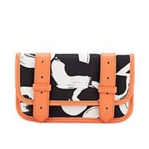 Proenza Schouler black and white wallet